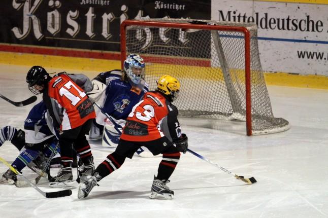 Playdown Kleinschüler ESV Halle - ESC Dresden am 12.03.2011