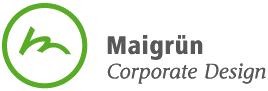 Maigrün Logo