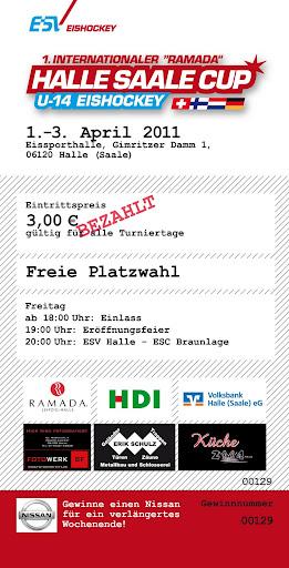 Ramada Halle Saale Cup 2011 Vorbereitungen Teil 3