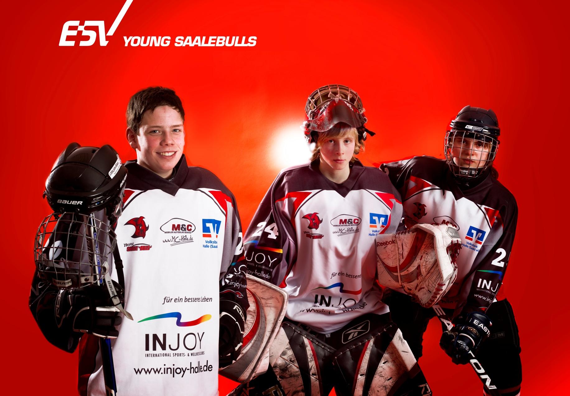 ESV Halle - young saalebulls; Copyright: Maigrün | Uwe Köhn; Rechte: Creative-common - Namensnennung http://www.maigruen.com