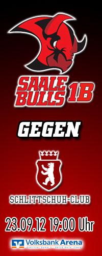 Saale Bulls gegen den Schlittschuh-Club Berlin