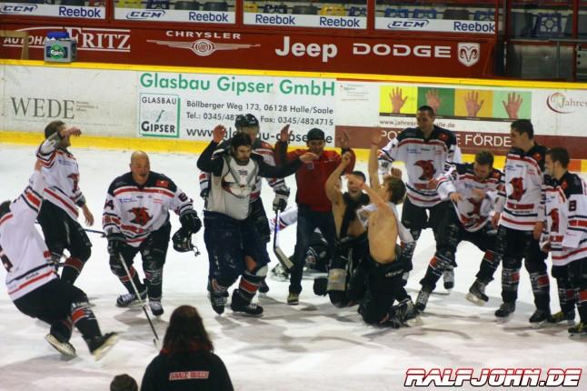 Saale Bulls 1B - Leipziger Eissportclub - Party