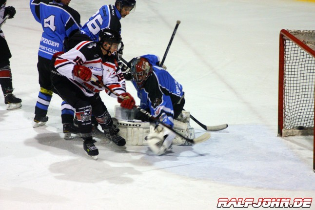 Saale Bulls 1B - Leipziger Eissportclub - Tor Klingner