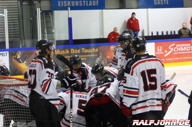 Leipziger Eissport-Club - Saale Bulls 1B - Einschwörung auf einen heißen Tanz