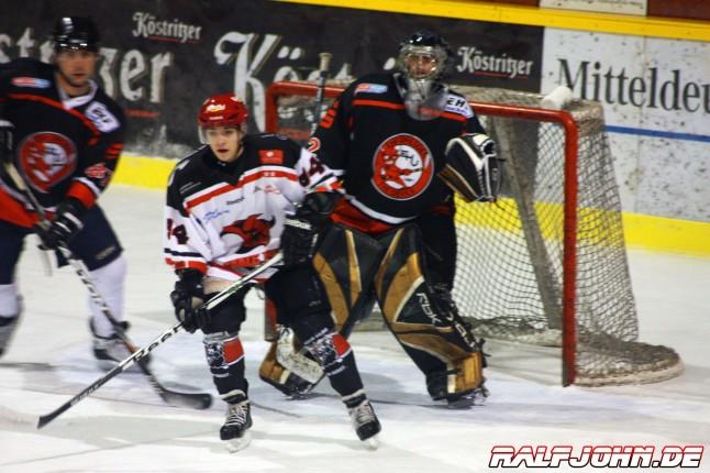 Saale Bulls 1b - Devils Dresden - Enrico Ehrhardt ist aktuell in top Verfassung