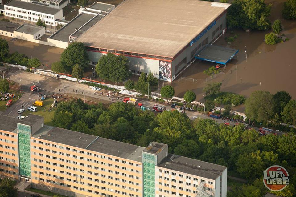 Deutschlandweite Hilfe für Sachsen-Anhalts einzige Eissporthalle