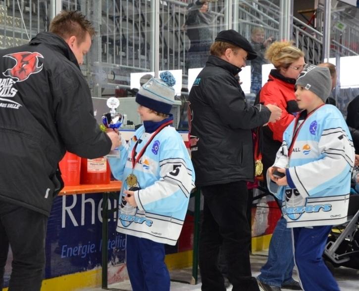 Eishockeyfestival für Kinder