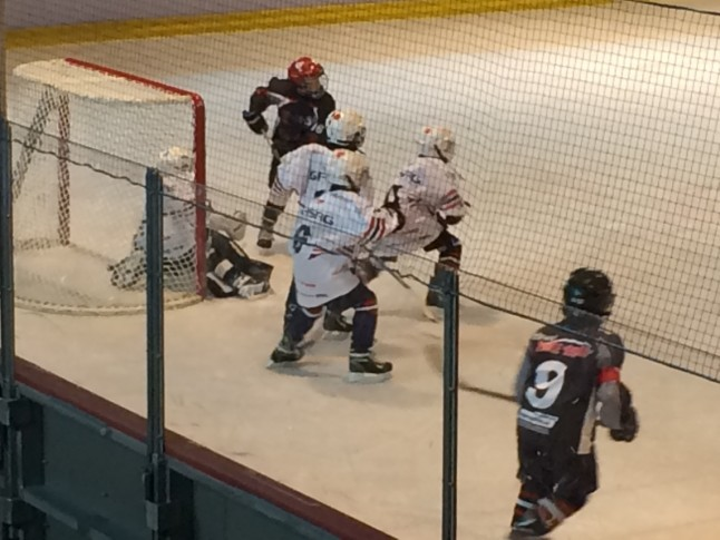 Young Saale Bulls Bambini gegen Eisbären Juniors Berlin