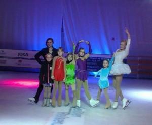 Eiskunstlauf bei Globana - die Läuferinnen