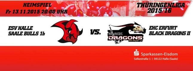 Saale Bulls 1b - Die ESV Herren - gegen die Black Dragons 1b