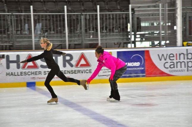inspiration on ice - neue Trainerin