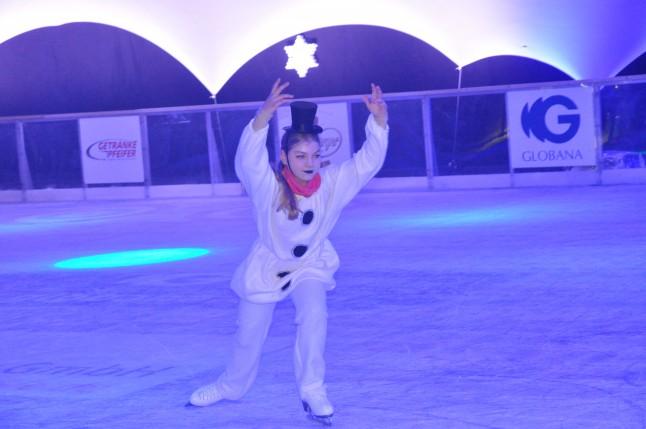ESV Eiskunstläufer eröffnen Globana Eiszauber 2017