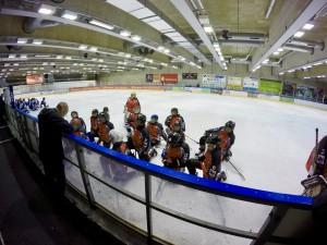 SG Halle/OSC Teambesprechung