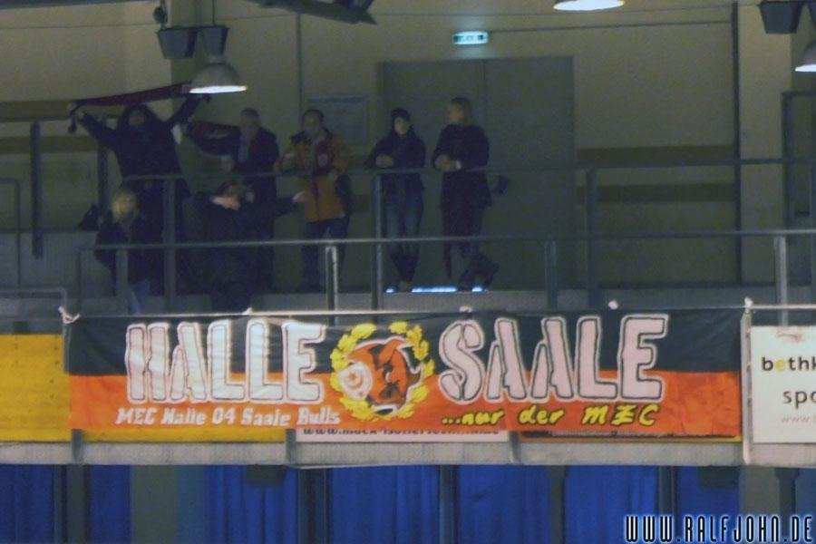 Unsere Fans und ihr cooles Banner