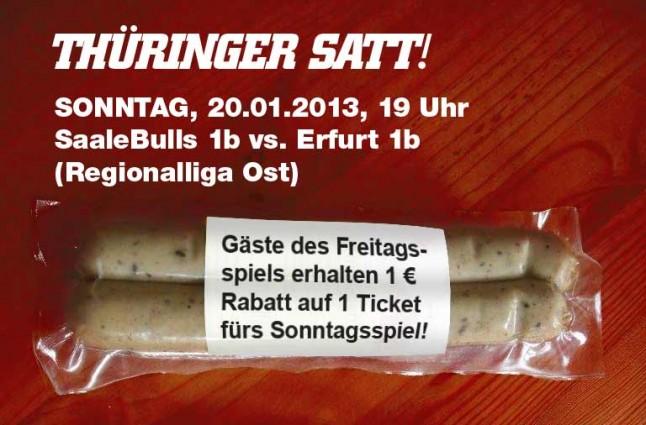 Saale Bulls 1b gegen Black Dragons 1b - Sonderaktion
