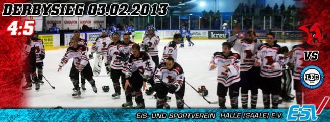 Derbysieg der Saale Bulls 1b in Taucha