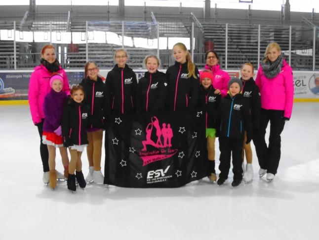 Inspiration on Ice beim ESV Halle