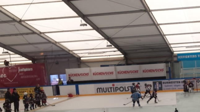 Erstes Bambini Turnier 2014/15 in Leipzig
