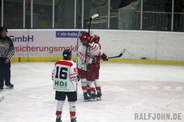 Der Top-Sturm jubelt - Rahn Pietschmann Munser