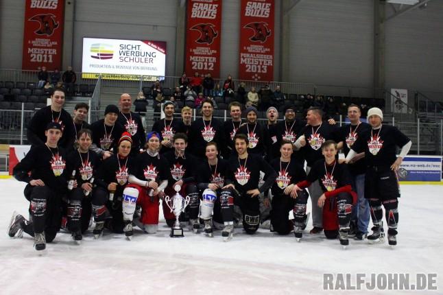 Saale Bulls 1b - Landesligameister 2015