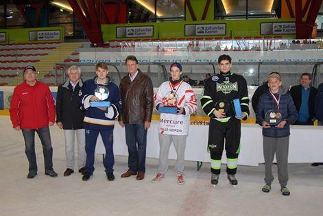 Beste Spieler mit Lorenz vom ESV Halle & Friends