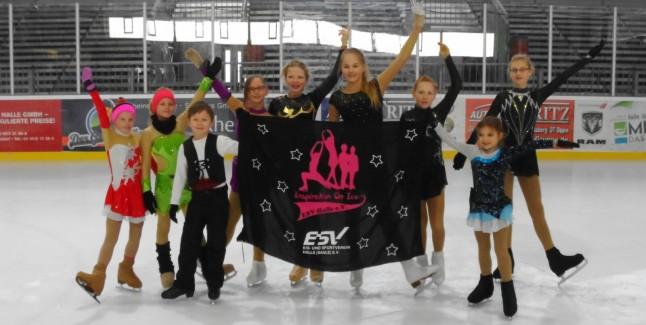 Eiskunstlauf Meisterschaft Halle