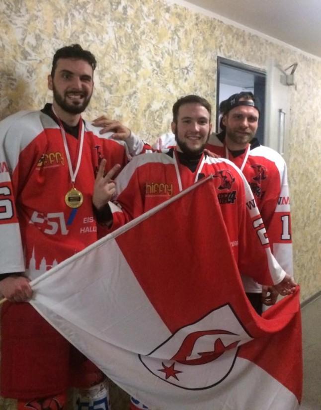 Erster Meistertitel für die Saale Bulls 1c
