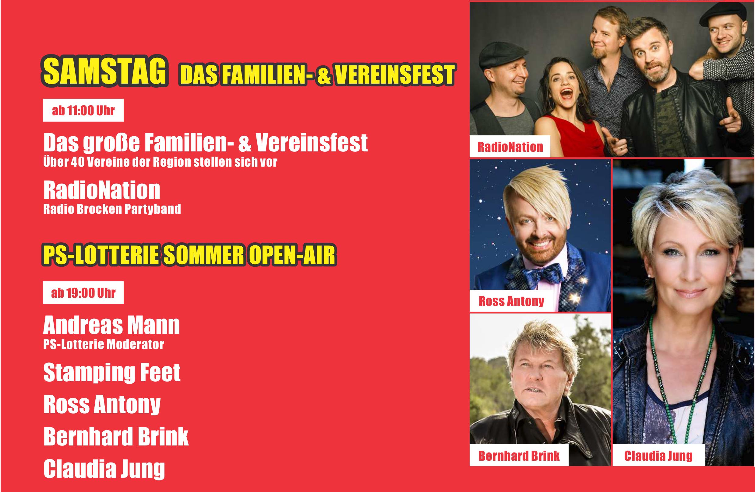 Sommerprogramm 2019 – Sparkassen Vereinsfest