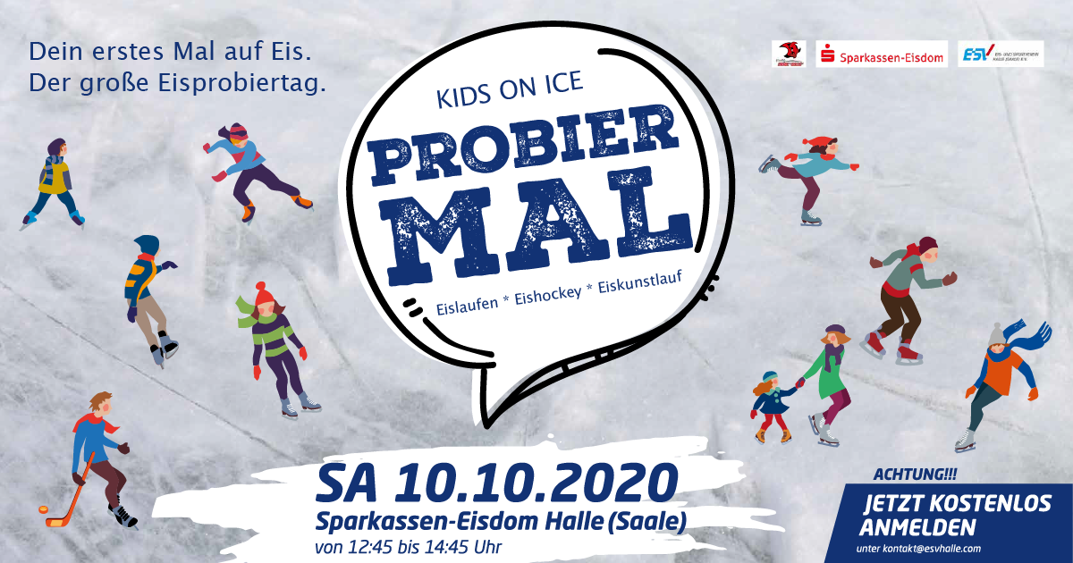 Kids on Ice Day in Halle