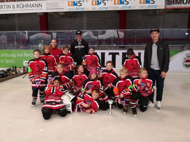 Platz 3 für Young Saale Bulls in Hannover