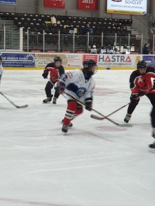 Young Saale Bulls in der Offensive