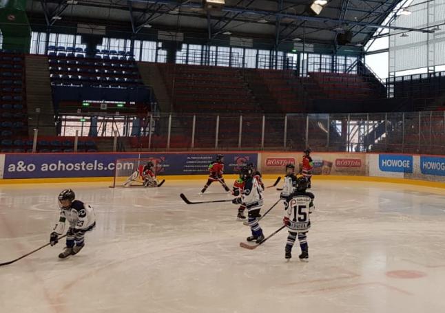 Young Saale Bulls U9 gegen Eislöwen Juniors