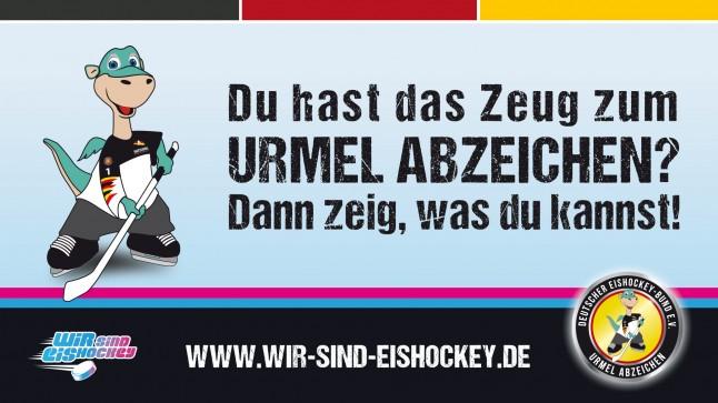 Urmel Abzeichen des Deutschen Eishockey-Bundes