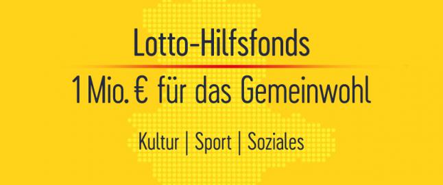 Lotto-Hilfsfonds für Young Saale Bulls