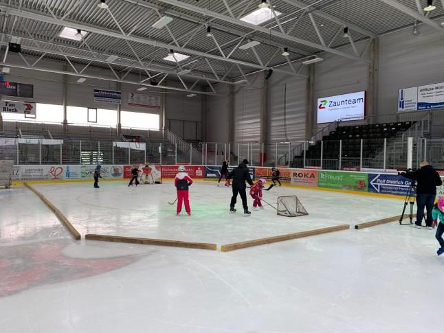 TV Halle beim Kids on Ice Day