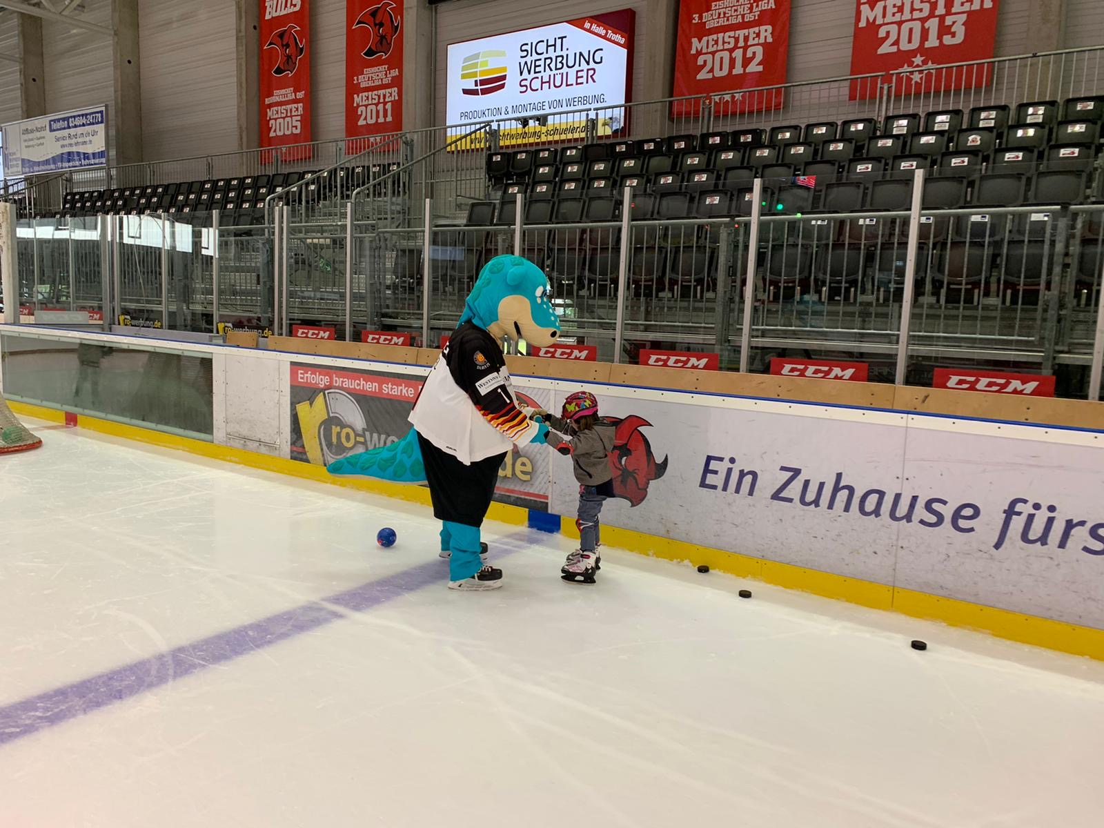 Ein toller Kids on Ice Day im Sparkassen – Eisdom